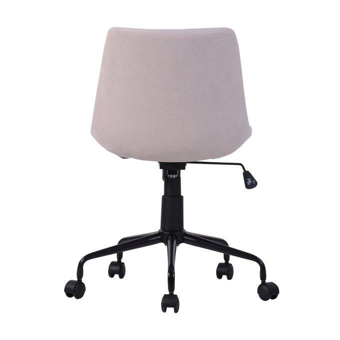 Кресло офисное Кайзер бежевого цвета