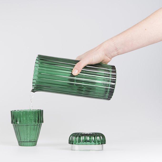 Графин стеклянный saguaro зеленый