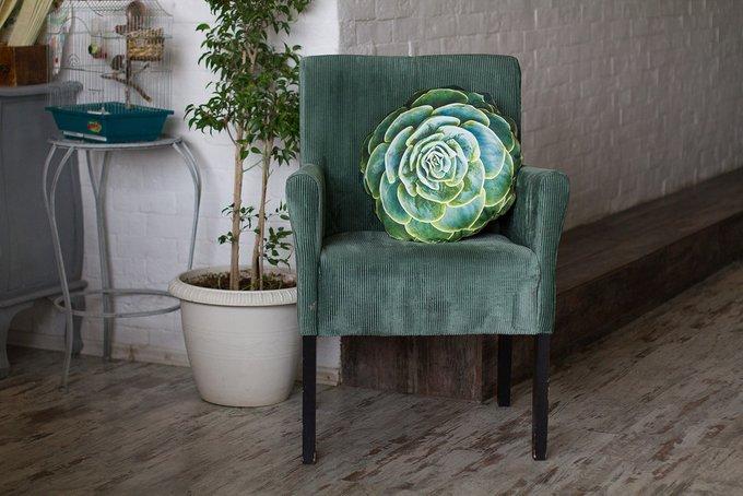 Декоративная подушка-цветок. Bonobodeco.