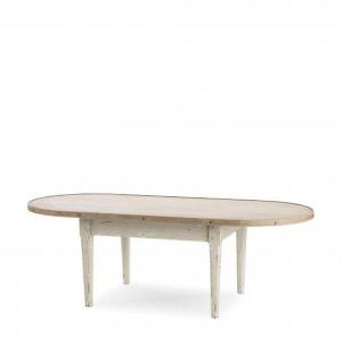 Журнальный стол HANNAH OVAL TABLE
