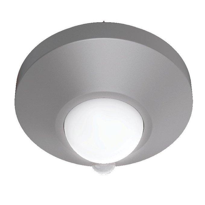 Потолочный светодиодный светильник серого цвета