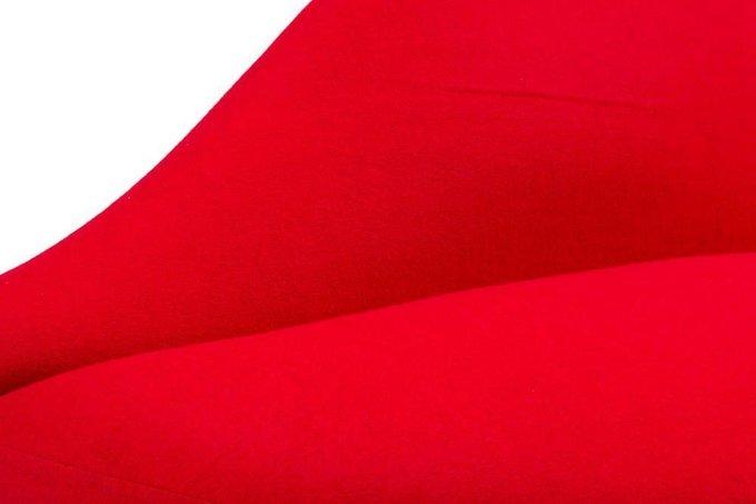 Диван Heller Bocca Lip красного цвета