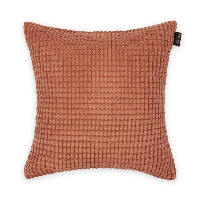 Декоративная подушка Civic Clay оранжевого цвета
