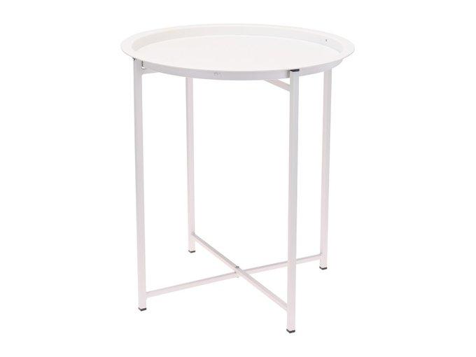 Стол складной Matt White белого цвета