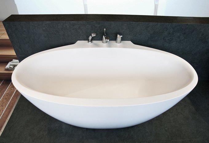 Каменная Ванна Sensuality Mini-W Пристенная