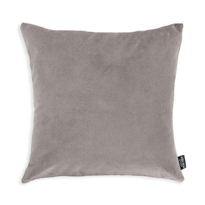 Декоративная подушка Lecco Ash серого цвета