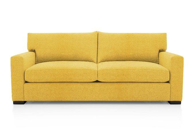 Диван-кровать Нагал желтого цвета