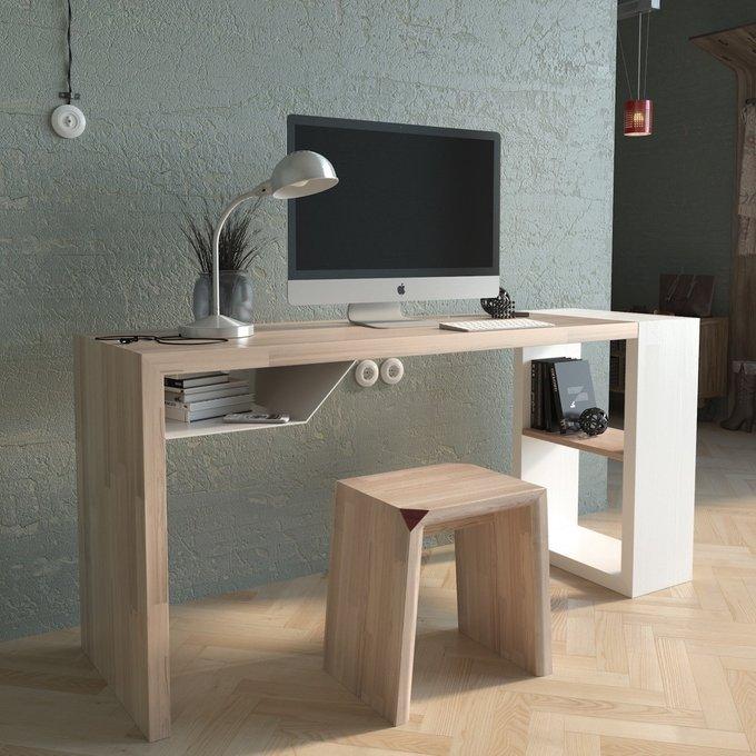 Рабочий стол EcoComb-5  эмаль белая