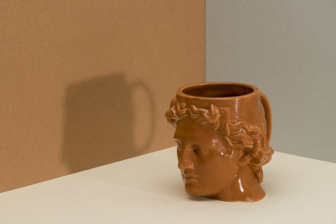 Кружка керамическая Doiy hestia оранжевая