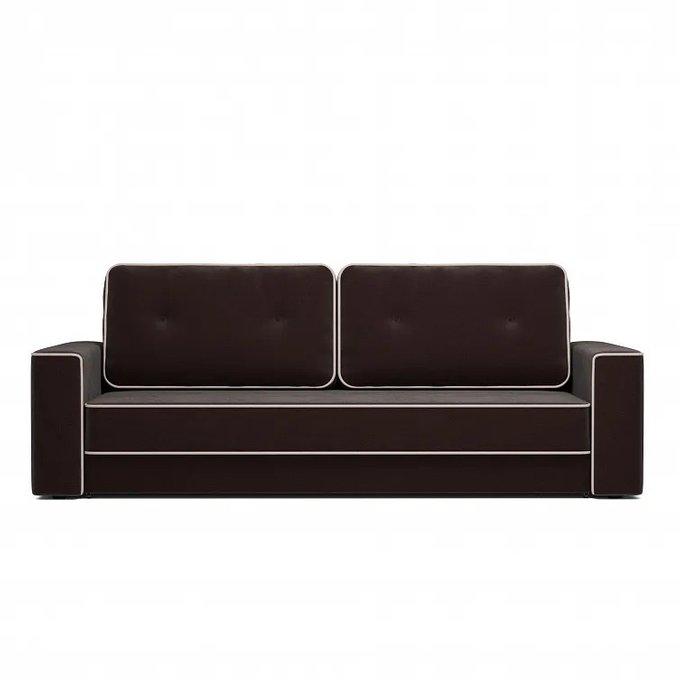 Диван-кровать Стаут темно-коричневого цвета