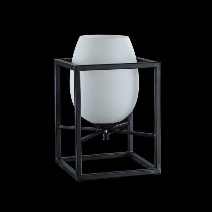 Настольная лампа Cabin черно-белого цвета