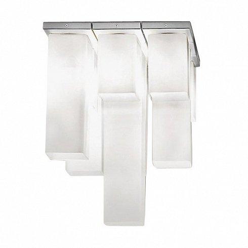 """Потолочный светильник Vistosi """"TUBES"""" с плафонами из стекла белого цвета"""