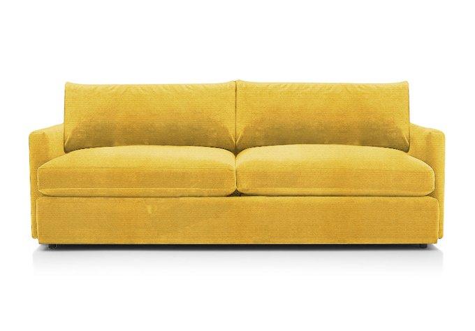 Диван-кровать Винс желтого цвета