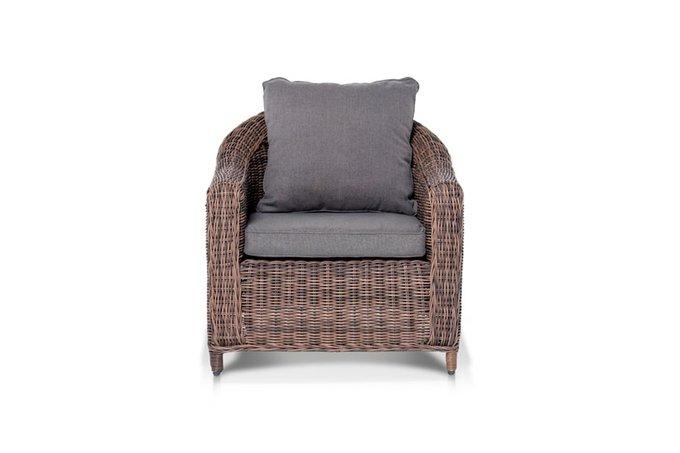 Кресло Кон Панна шоколадного оттенка