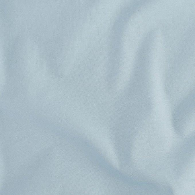 Простыня на резинке из перкаля голубого цвета 180х200