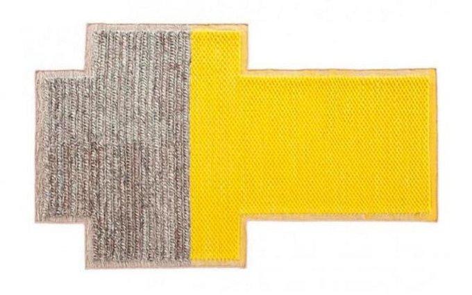 Ковер Plait Big желтый 160x250