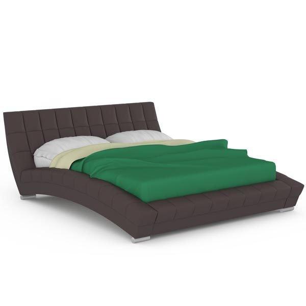 Кровать Оливия коричневого цвета 160х200