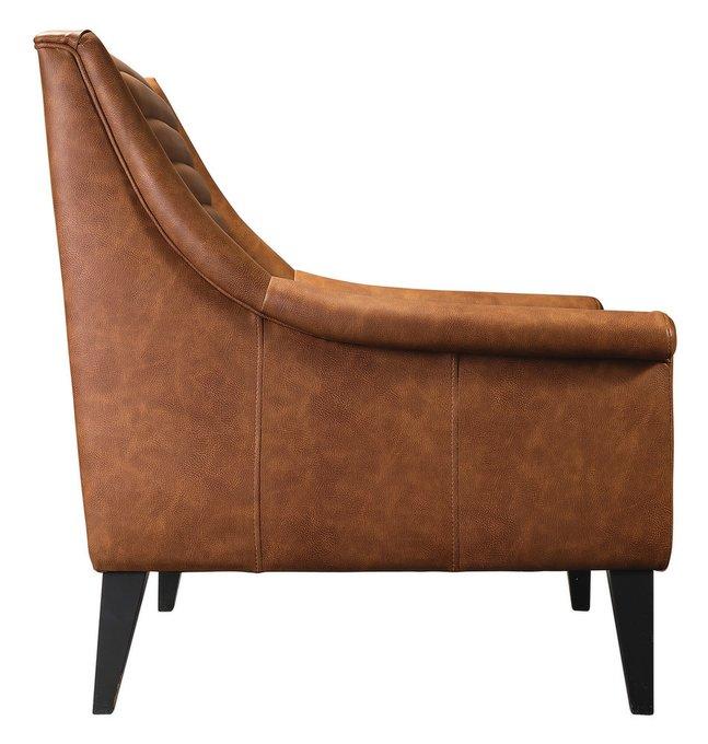 Кресло Loft Аляска Браун на каркасе из массива бука