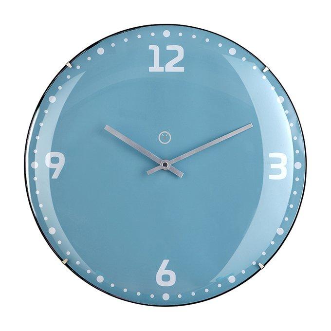 Настенные часы Rio бирюзового цвета