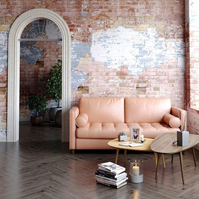 Двухместный раскладной диван Scott MTR зеленый