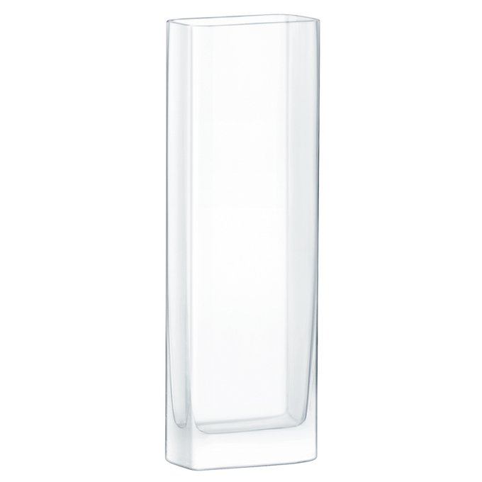 Ваза прямоугольная modular прозрачная