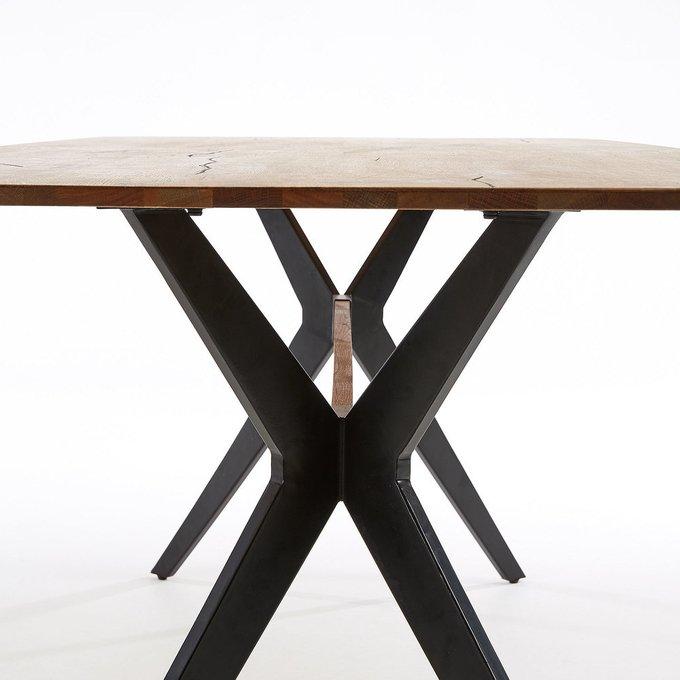 Стол обеденный Amethyst 215 цвета античный дуб