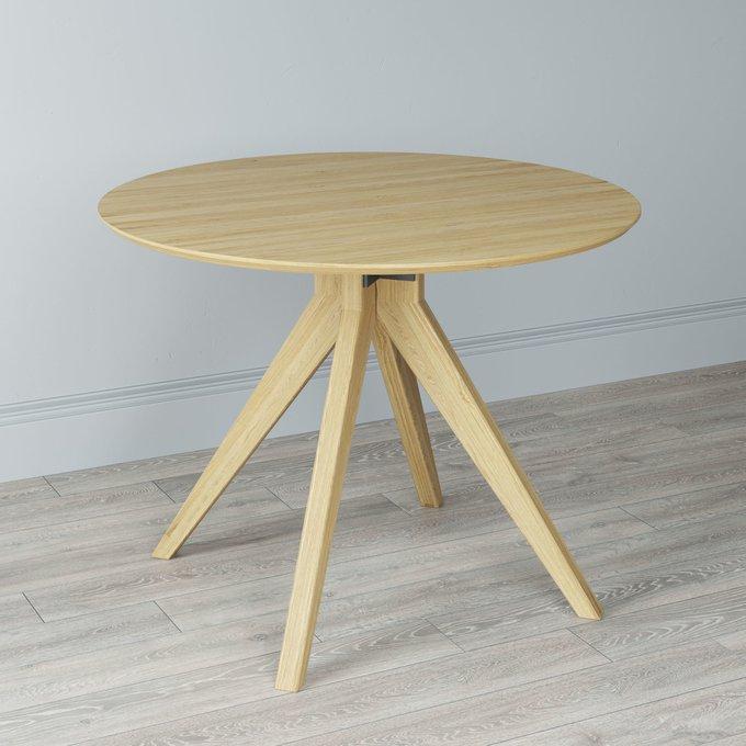 Стол обеденный раскладной Breig transform цвета натуральный дуб