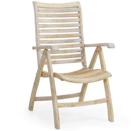 Кресло складное Karlo из тика