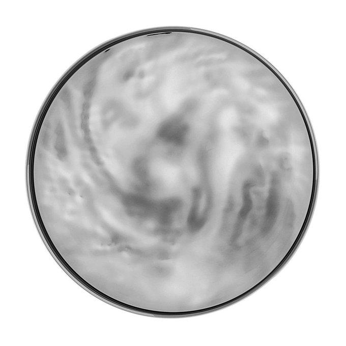 Блюдо Moon дымчатого цвета