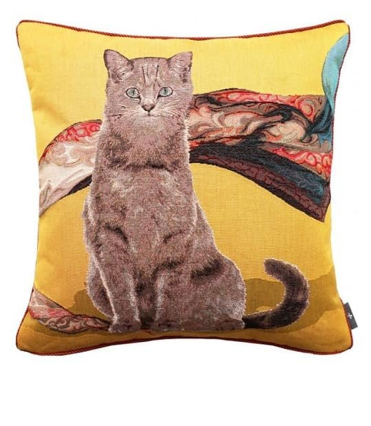 Декоративная подушка GREY CAT