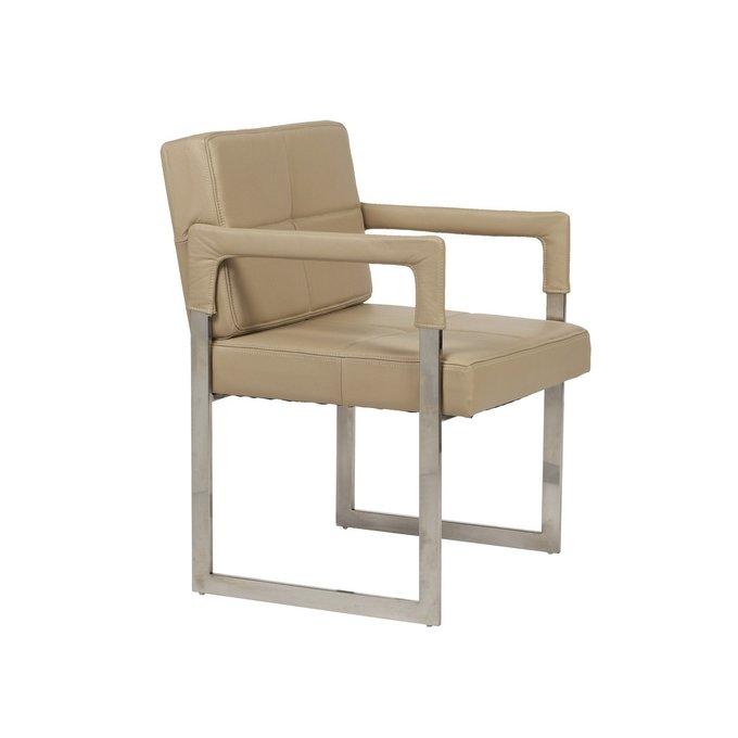 Кресло Aster Chair Sand Premium Leather