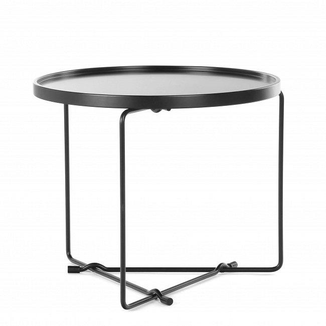 Кофейный стол Haku черного цвета