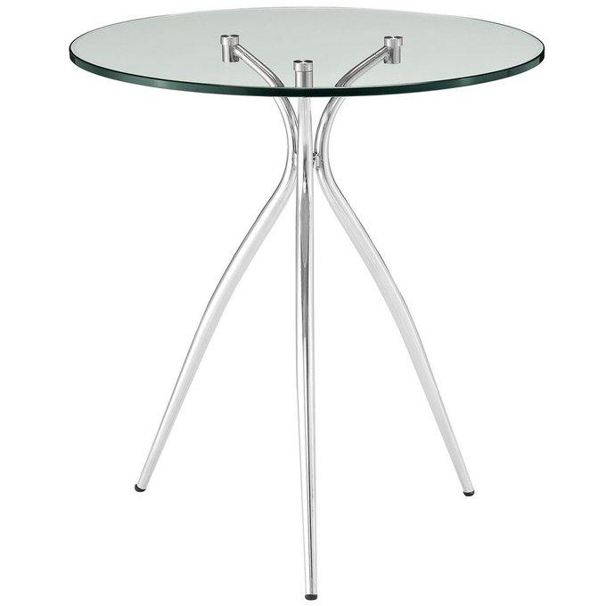 Кофейный столик с мраморной столешницей