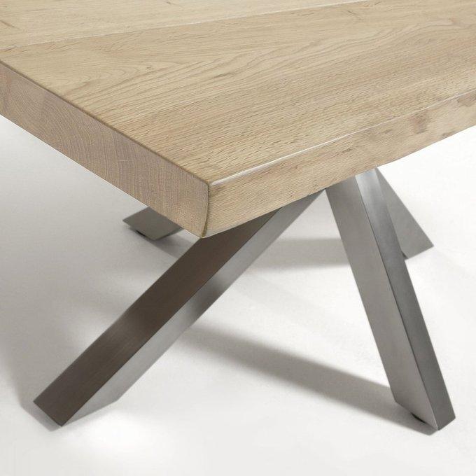 Обеденный стол Arya со столешницей из массива дуба