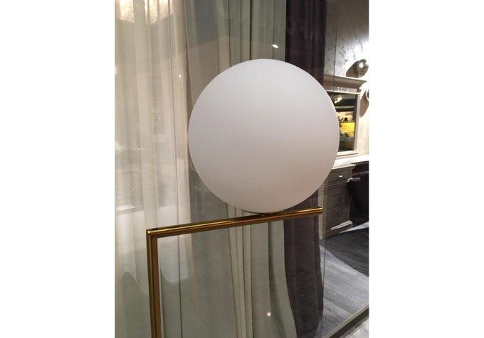 Торшер One Planet с белым плафоном