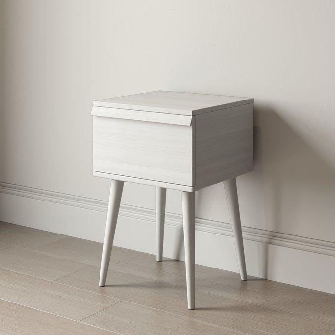 Прикроватная тумба Lina stand с ящиком цвета орех
