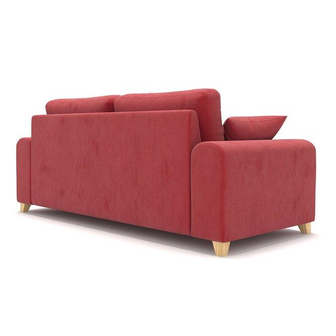Диван трехместный Vittorio MT красного цвета