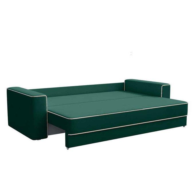 Диван-кровать Стаут зеленого цвета