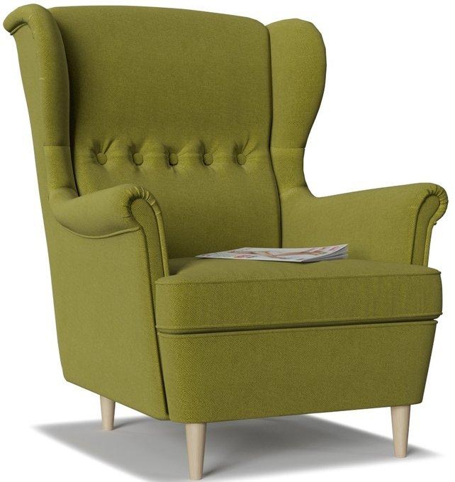Кресло Торн Green зеленого цвета