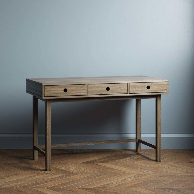 Письменный стол Marinas 120х60 цвета натуральный дуб