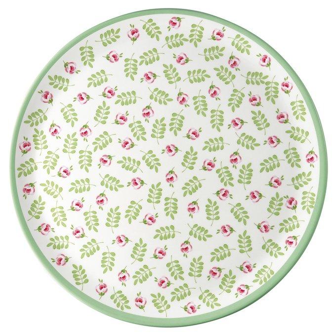 Блюдо Lily petit white из фарфора