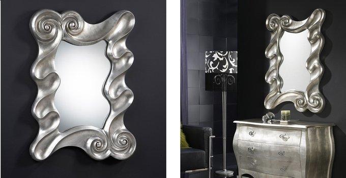 Настенное зеркало  Schuller Olas с завитками