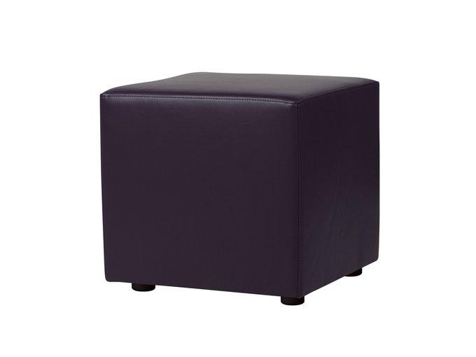 Пуф Rubik темно-фиолетового цвет