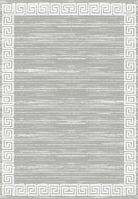 Ковер серого цвета 80x200