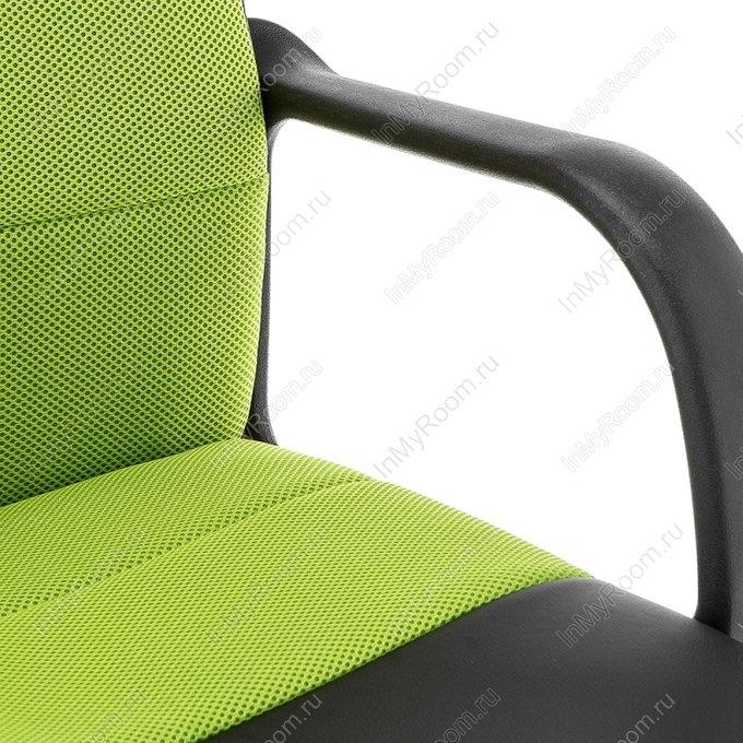 Компьютерное кресло Prosto черно-зеленого цвета