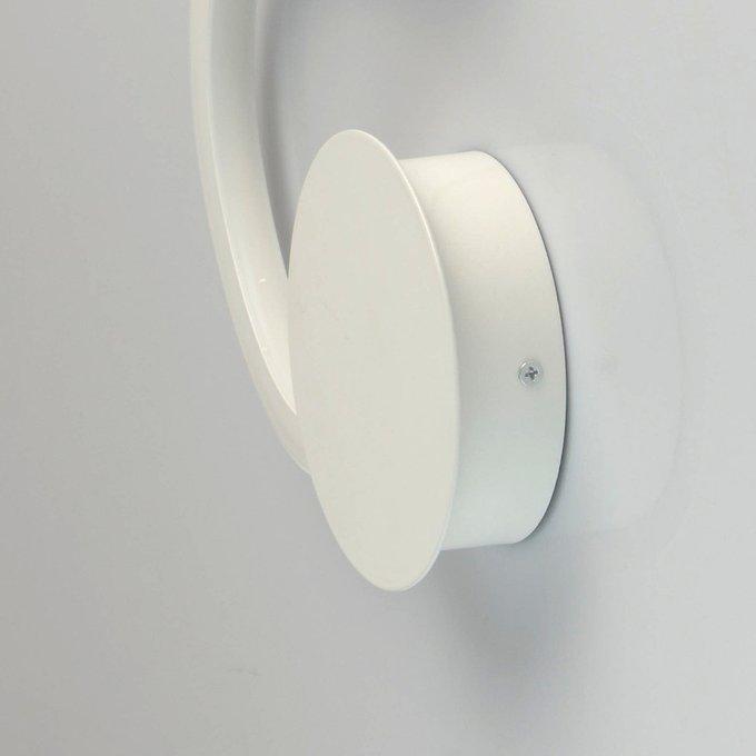 Потолочный светодиодный светильник Риббон белого цвета