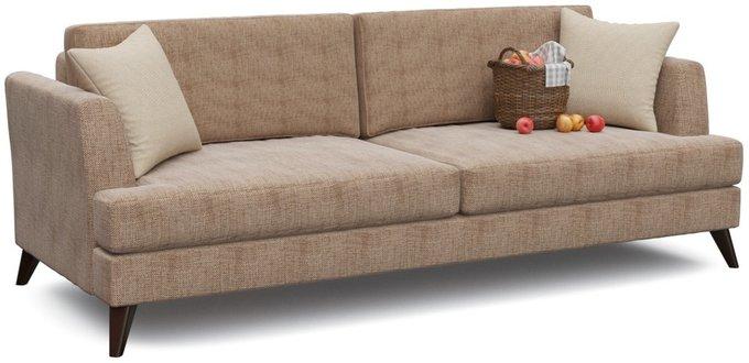 Диван-кровать Верди Браун коричневого цвета