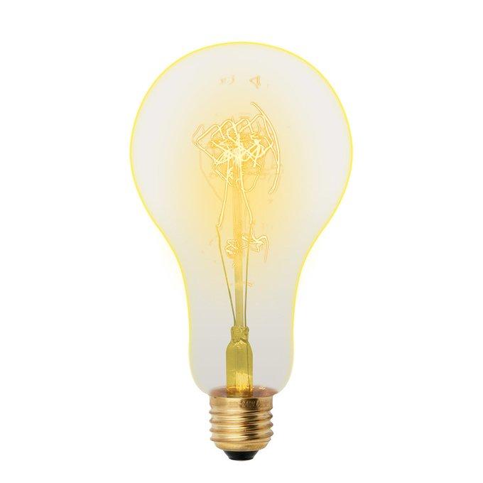 Лампа накаливания Груша золотистая
