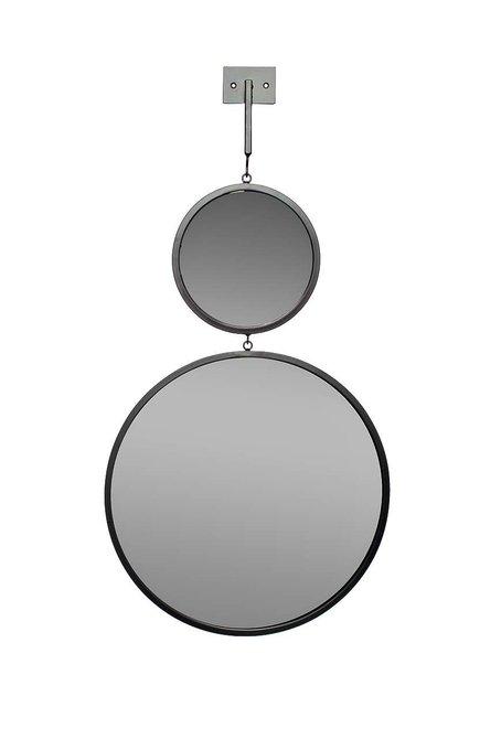 Зеркало двойное с планкой