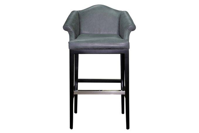 Барный стул Parnas серого цвета